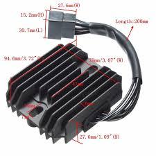 voltage regulator rectifier for suzuki gsxr600 750 1300 1400 dl650