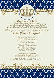 royalty themed baby shower prince baby shower invitations party xyz