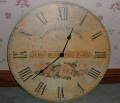 Large Shabby Chic Wall Clock by 39 Best Wall Clocks Images On Pinterest Wall Clocks Large Wall