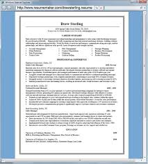 Resume Builder Free Template Free Resume Print Out Resume Template And Professional Resume