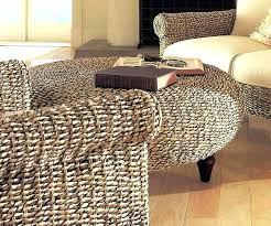Wicker Storage Ottoman Coffee Table Rattan Ottoman Coffee Table Wicker Ottoman Image Of