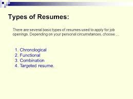 2 types of resumes hitecauto us