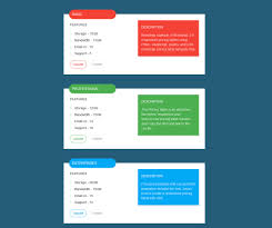 css price table templates table ideas
