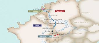 Koblenz Germany Map by Educational Opportunities Tours Amawaterways River Cruises