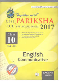 rachna sagar together with pariksha english communicative term 2