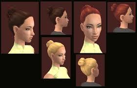 chopstick hair mod the sims recolors of alpha edited chopsticks hair