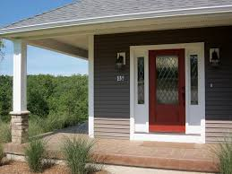 yellow exterior home luxurious home design