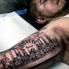 100 inner bicep designs for manly ink ideas