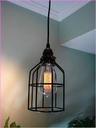 Swag Pendant Lighting Lamp Surprising Plug In Hanging Lamps For Living Room Plug In