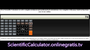 free online calculator free online scientific calculator youtube