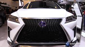 lexus rx los angeles 2016 lexus rx 450h f sport exterior and interior walkaround