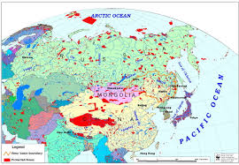 Ural Mountains World Map by Slide 1