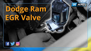 2003 dodge ram 1500 4 7 how to install replace egr valve 2006 08 dodge ram 1500 v8 5 7l