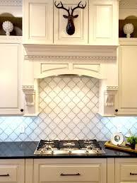 snow white arabesque glass mosaic tiles kitchen backsplash