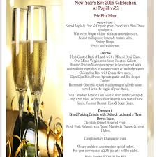 martini bar menu new years eve party december 31st at papillon 25 restaurant