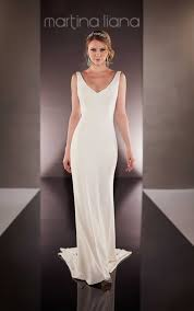 simple wedding dresses classic simple wedding dress martina liana wedding dresses