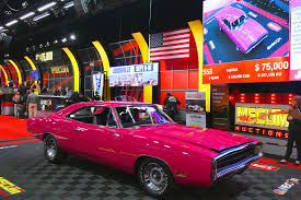 1970 dodge charger 500 mopars fetch millions at mecum rod