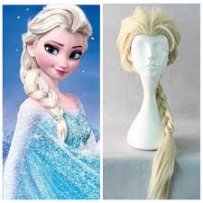 wigs for halloween 2015 movie elsa cosplay wigs halloween hair accessories prodcts