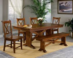 Affordable Dining Room Furniture How To Make Trestle Dining Table Dans Design Magz