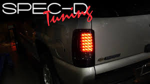 2005 gmc yukon xl third brake light specdtuning installation video 2000 2006 chevy tahoe gmc yukon