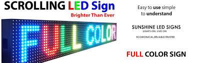 led display board led screen led board manufacturers led glow sign
