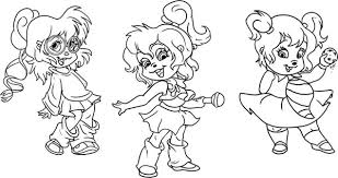 chipmunks free coloring pages art coloring pages