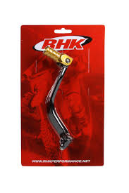 rhk new mx suzuki rm 125 2001 2011 shifter motocross gold gear