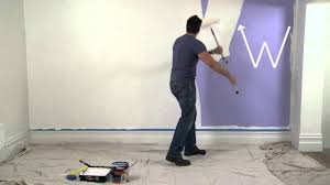 how to paint interior walls with dulux paint youtube