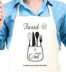tablier cuisine personnalisé pas cher tablier de cuisine pas cher frais tablier cuisine homme personnalisé