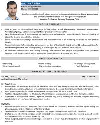 marketing resume format marketing manager cv format resume sle and shalomhouse us