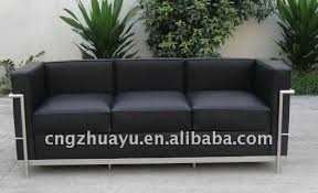 Barcelona Style Sofa Chinese Factory Sale Barcelona Style Lc2 Chair Loveseat Sofa