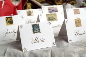Placecards Calligraphy Place Cards Tutorial The Postman U0027s Knock