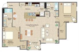 Sorrento Floor Plan The Amalfi At Clearwater Clearwater Fl Apartment Finder