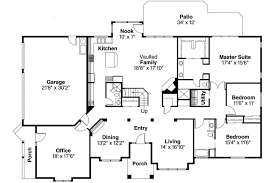 Ranch Floor Plans Open Concept Luxury Ranch House Plans Open Floor Plan Style Homes Best Modern