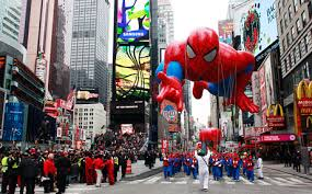 best thanksgiving day parades city