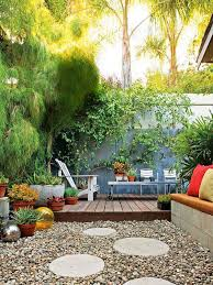 Images Of Backyards I Love How This Small Space Doesn U0027t Feel Closed In Because Of All