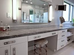 White Kitchen Cabinets With Grey Marble Countertops Photo Page Hgtv