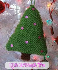 handmade knit ornaments
