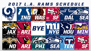 2017 rams schedule wallpapers