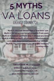 5 Home Loans by 5 Myths About The Va Loan Program Orange County Ca