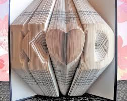 Book Paper Folding - folded book origami handmade anniversary by happyfoldedbooks