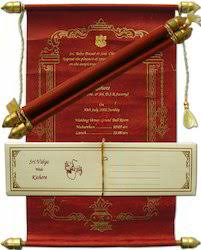 wedding scroll invitations scroll invitations handmade paper scroll invitations exporter