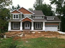Exterior Color Schemes by Modern Home Exterior Color Schemes Design Siding Minimalist Red