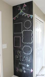 139 best chalkboard ideas images on pinterest chalkboard ideas diy chalk board wall chalk markers dendy girl i should put chalkboard paint on the tiny wall in kyrie s room and the dining room