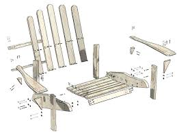Plans For Wood Deck Chairs by