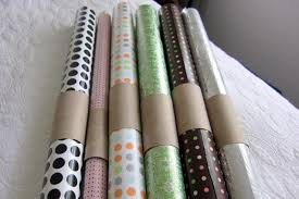 ways to store wrapping paper learn these 11 ways of using empty toilet paper rolls around the house