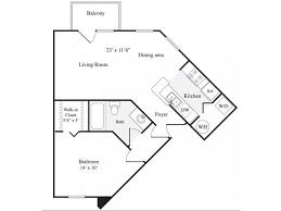 Wisteria Floor Plan Baldwin Park Apartments Promenade Crossing