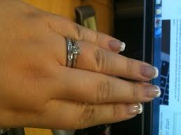 engagement rings size 8 size 7 to 8 fingers with 5 to 1 carat ring pics weddingbee