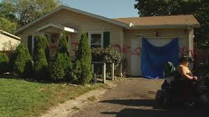 vandals spray paint slur on west jefferson boy u0027s home nbc4i com