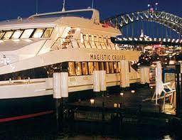 sydney harbor dinner cruise magistic sydney harbour dinner cruises packages from 100